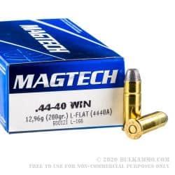 Cartouches MAGTECH Calibre 44-40 - Boite de 50 unités