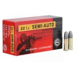 Cartouches GECO SEMI AUTO Calibre 22LR - Boite de 50 unités