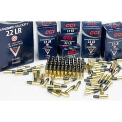 Cartouches CCI STANDARD Calibre 22LR - Boite de 50 unités