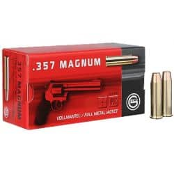Cartouches GECO 357 MAGNUM  FMJ 158 grs