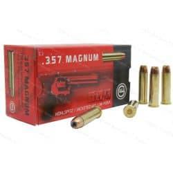 Cartouches GECO Calibre 357 MAGNUM HP 158grs - Boite de 50 unités