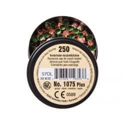 Amorces RWS Poudre noire 1075 PLUS - Boite de 250 unités