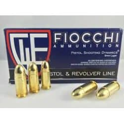 Cartouches FIOCCHI 9mm - 115grs RNFMJ