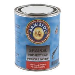 ARMISTOL GRAISSE PROJECTILES POUDRE NOIRE