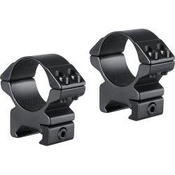 Hawke Tactical Ring Mounts 30mm - MEDIUM - Double Screw