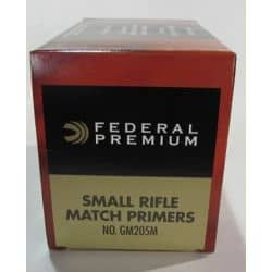 FEDERAL GM205M GOLD MEDAL SMALL RIFLE MATCH - Boite de 1000 unités
