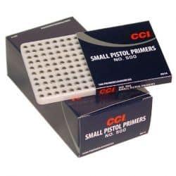 CCI SMALL PISTOL CCI500 - Boite de 1000 unités