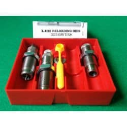 LEE PACESETTER DIE - 3 OUTILS - 303 BRITISH