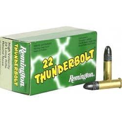 remington thunderbolt 22lr - boite 500