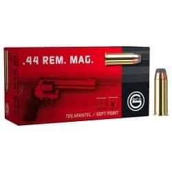 Cartouches GECO Calibre 44 REM MAG – 240 grs