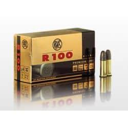 Cartouches RWS R100 Premium Line Calibre 22LR - Boite de 50 unités