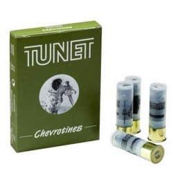 Cartouches TUNET Chevrotines Cal. 12/67 - 9 grains - BG - X10