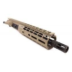 """Upper complet 10"""" pour carabine Semi Auto M4 cal .300 Blackout Cerakote FDE M-Lok"""