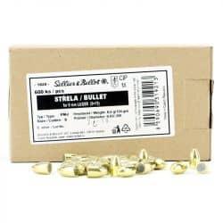 Ogives SELLIER & BELLOT Cal. 9mm .355 124 grs FMJ  - Boite de 600 -