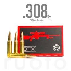 GECO 308 WIN FMJ DTX 150gr/9.7g - Boite de 50 unités
