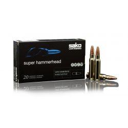 Cartouches SAKO SUPER HAMMERHEAD 30-06 SPRING. Soft Point 180grs 236A - Boîte de 20 unités