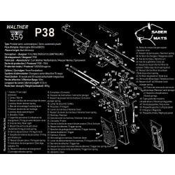 TAPIS DEMONTAGE WALTHER P38...